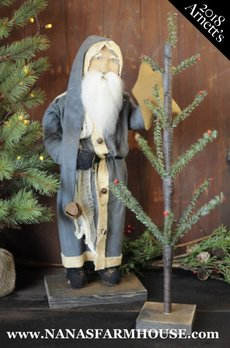 Arnett's Arnett's Santa Hanging Star on Tree JC27