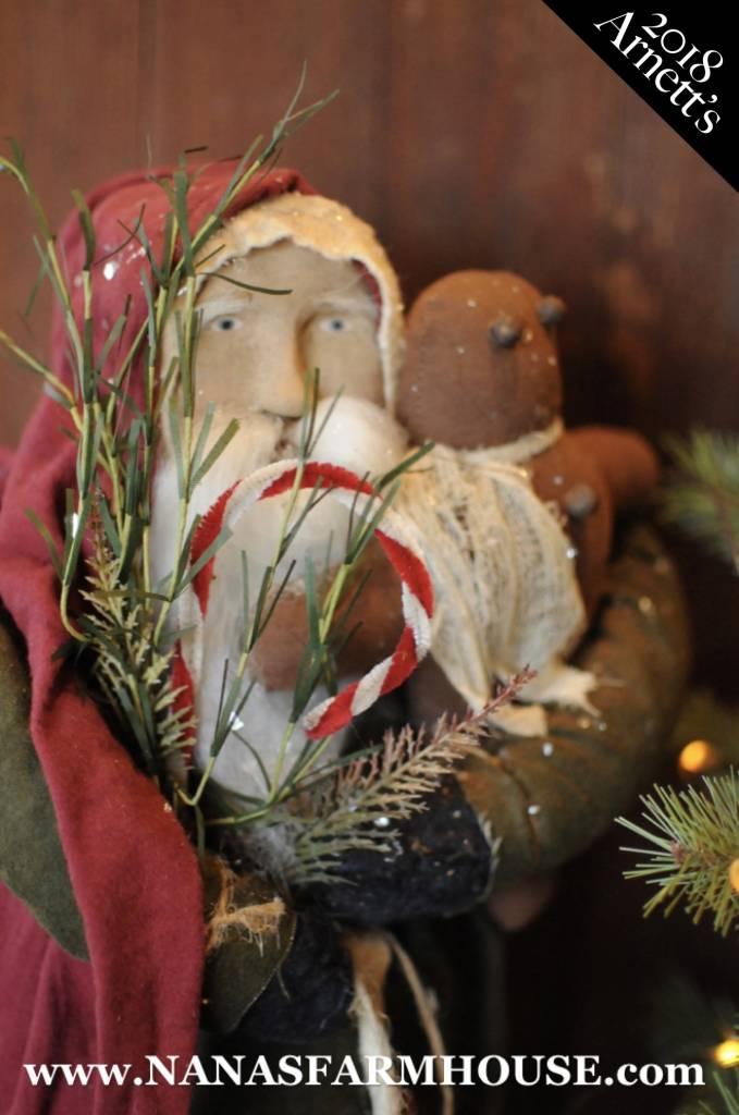 Arnett's Arnett's Santa with Gingerbread Man JC13
