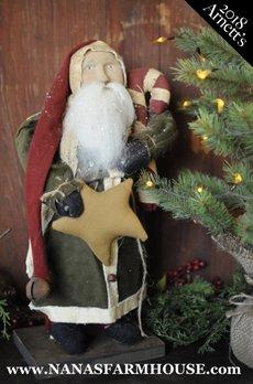 Arnett's JC23 Arnett's Santa with Candy Cane