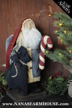 Arnett's JC22 Arnett's Santa with Candy Cane