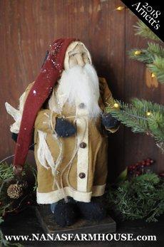 JC20 Arnett's Santa Carrying Black Sack