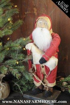 Arnett's Arnett's Santa Holding Sheep JC28