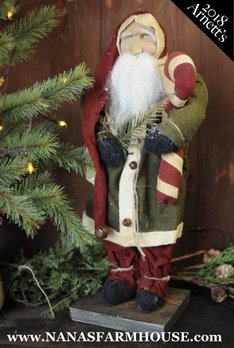 JC9 Arnett's Santa in Green Coat
