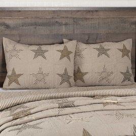 Sawyer Mill Star Charcoal Pillow Sham