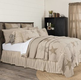 Sawyer Mill Star Charcoal Quilted Collection
