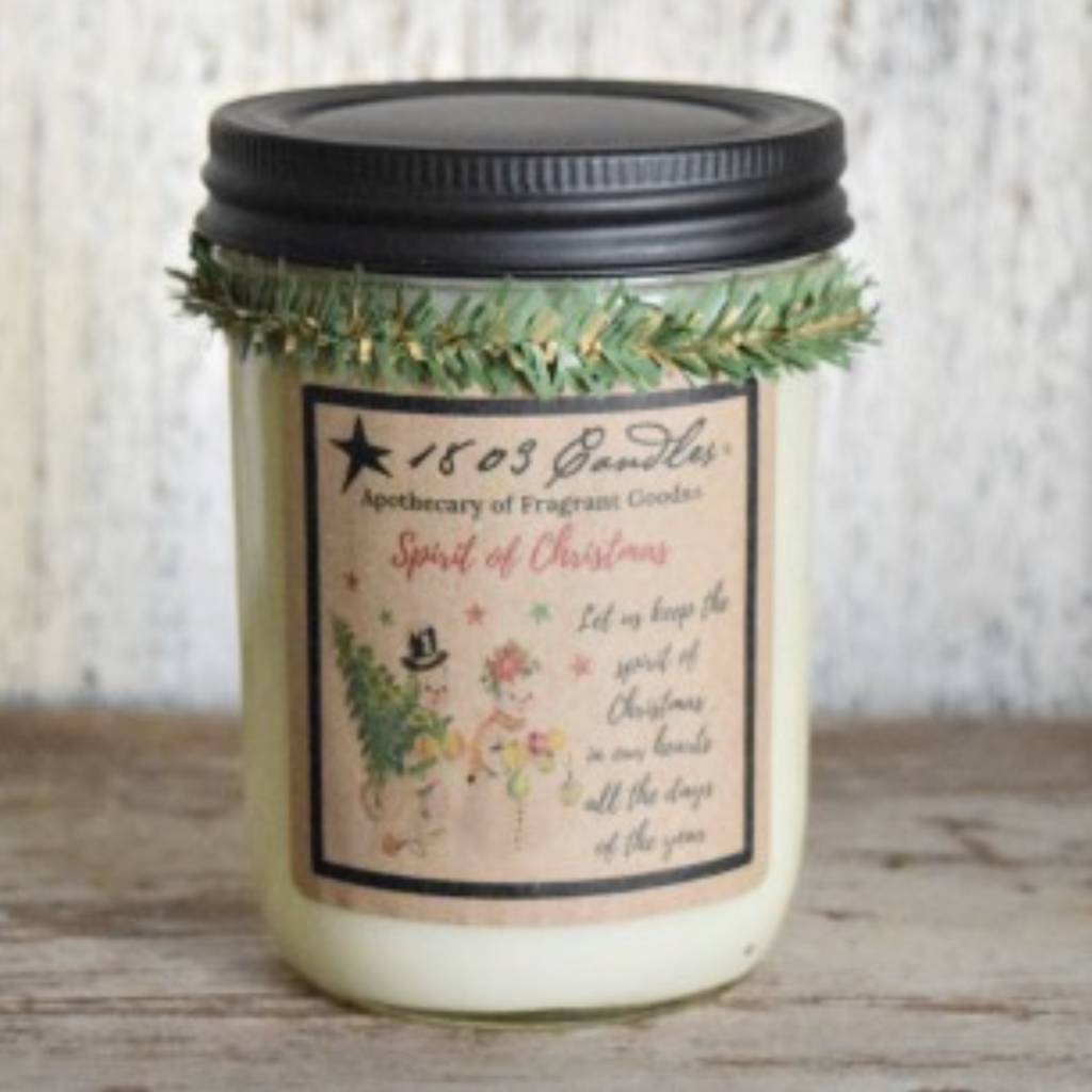 1803 Candles 1803 Spirit of Christmas Candle