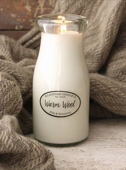Milkhouse Candles Warm Wool 8oz Milkhouse