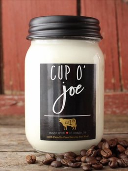 Milkhouse Candles Cup O' Joe 13oz Milkhouse Farmhouse Jar Candle