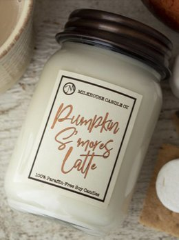 Milkhouse Candles Pumpkin S'mores Latte LIMITED EDITION