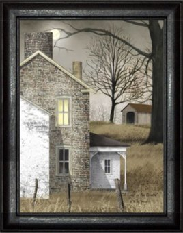 Billy Jacobs A Light In The Window Print by Billy Jacobs