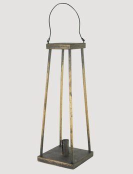 Colonial Black Swing Lantern