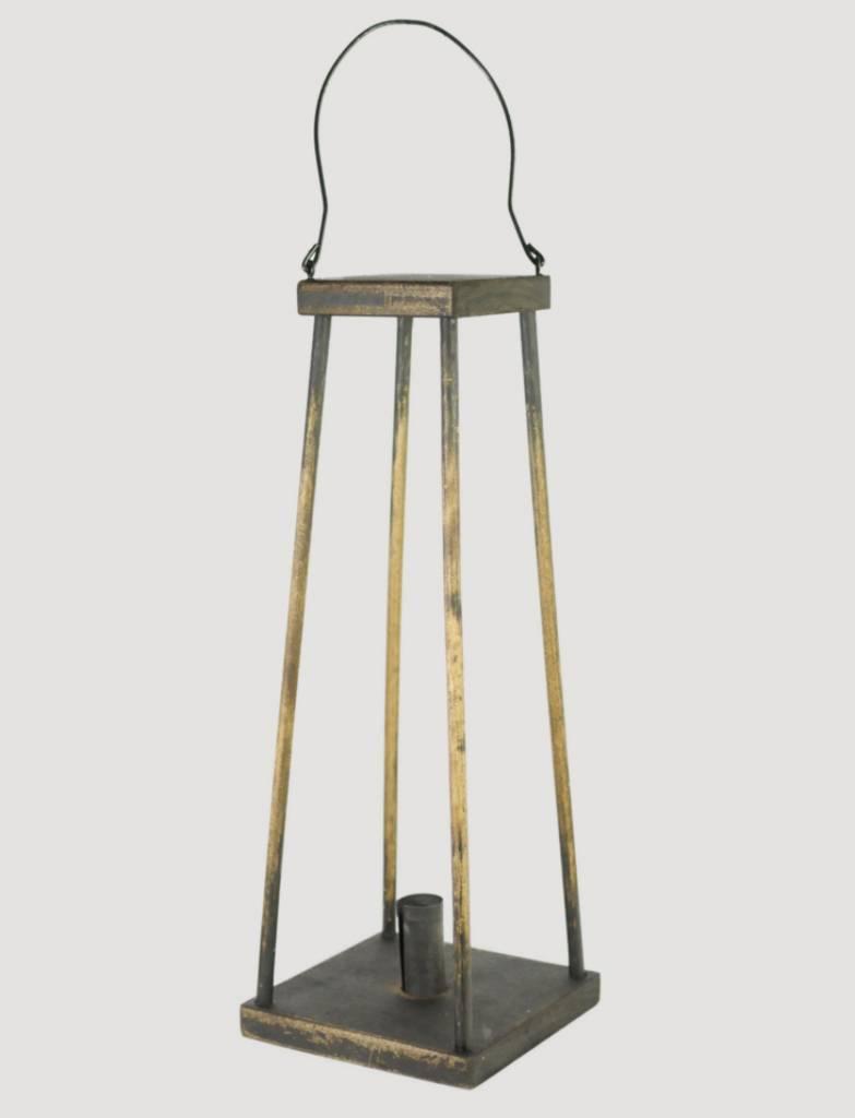 Colonial Black Swing Lantern