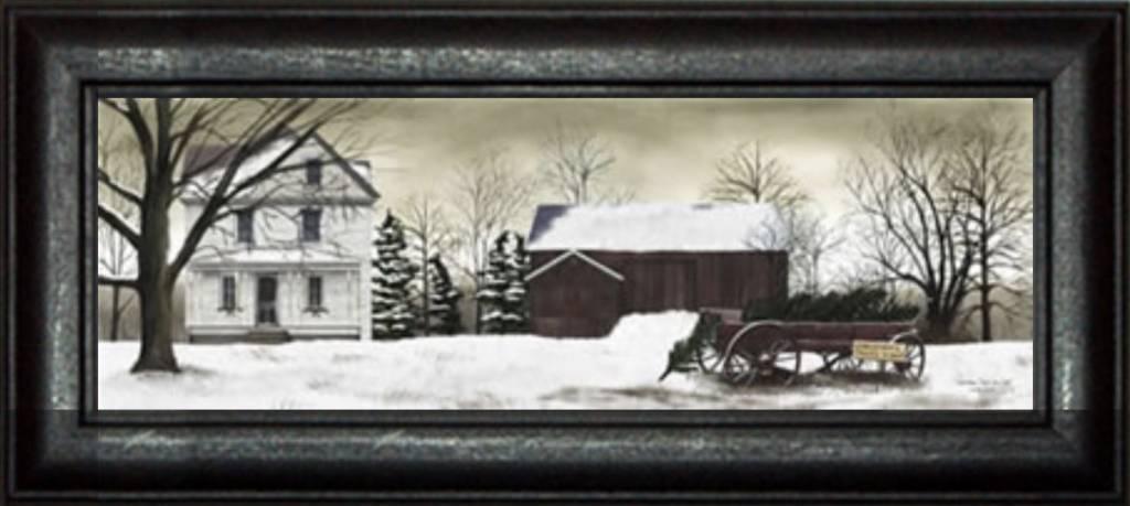 Billy Jacob's Christmas Trees for Sale Print