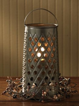 Park Designs Cheese Grater Lamp