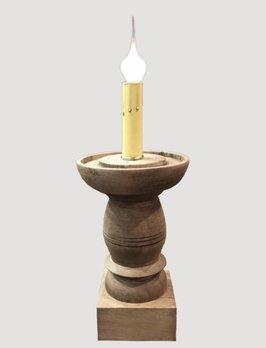 Farmhouse Candle Sleeve Pedestal Medium