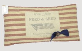 Olde Glory Feed & Seed Pillow