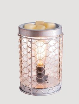 Chicken Wire Edison Bulb Illumination Warmer