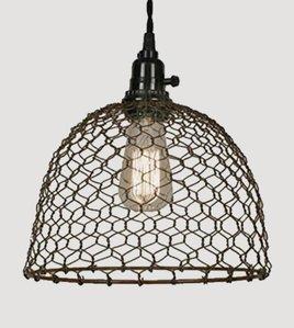 Chicken Dome Pendant