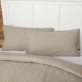 VHC Brands Sawyer Mill Ticking Stripe Shams