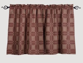 Home Collections By Raghu Smithfield Jacquard Tiers - Red