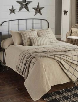 Park Designs Farmington Queen Bedspread - Oatmeal