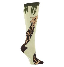 Sock It To Me Giraffe - Women's Knee High Socks