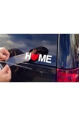 Home Ohio Sticker - Red