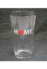 Home Pint Glass - Red