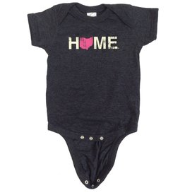 Home Ohio Pink Onesie