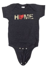 Be Ohio Proud Home Ohio Red Onesie