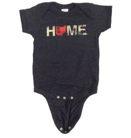 Home Ohio Red Onesie