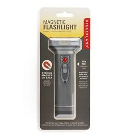 Kikkerland Designs Magnetic Flashlight - Flat Retro