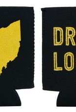 About Face Designs Ohio Koozie - Gold / Black