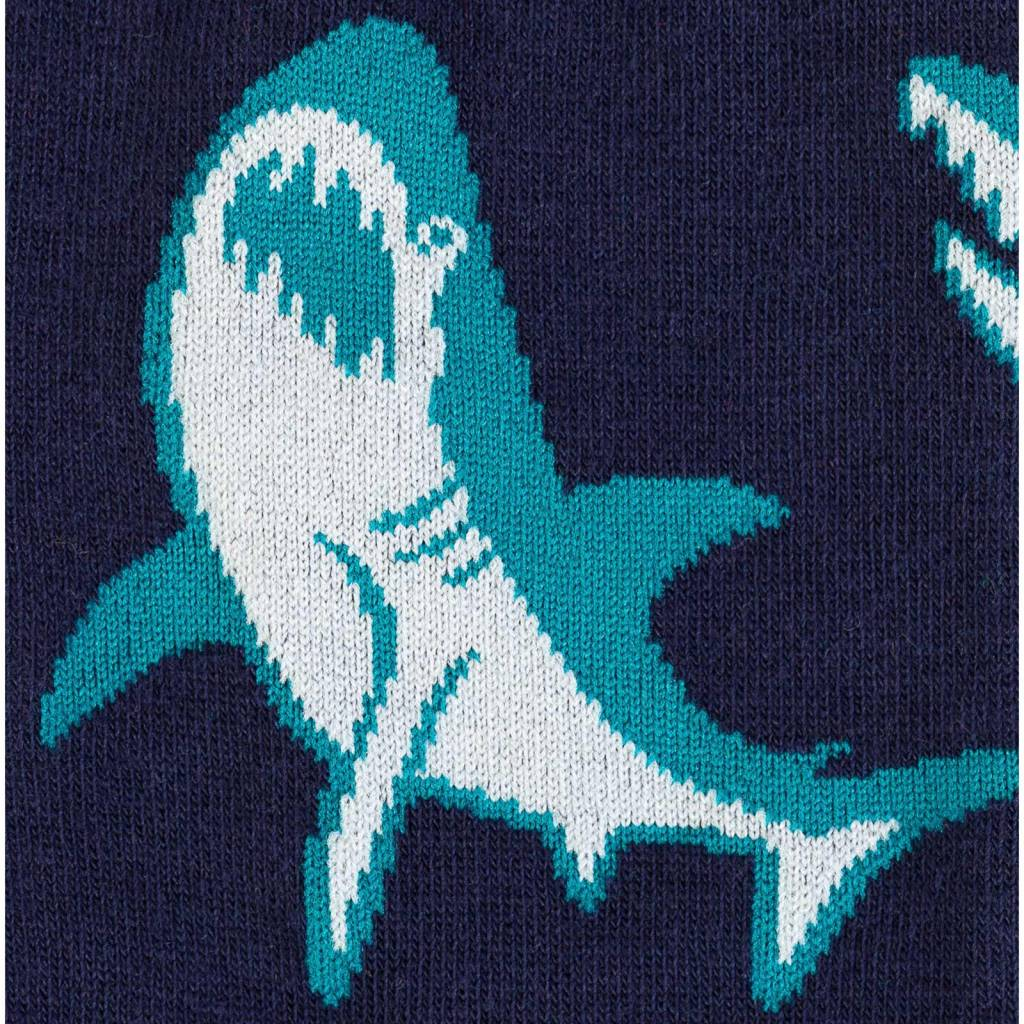Sock It To Me Shark Attack - Men's Crew Socks