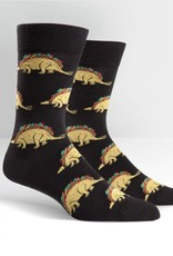 Sock It To Me Tacosaurus - Men's Crew Socks