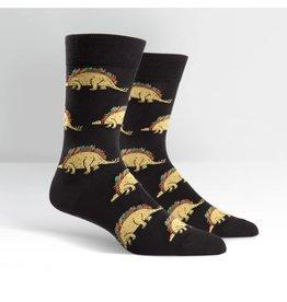 Sock It To Me Tacosaurus - Men's Crew Socks