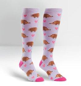 Sock It To Me Hedgehog - Women's Knee High Socks