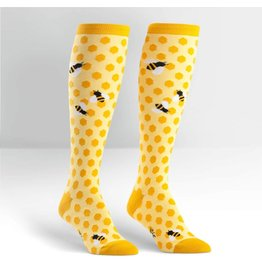 Sock It To Me Bee's Knees - Women's Knee High Socks