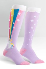Sock It To Me Rainbow Blast - Women's Knee High Socks