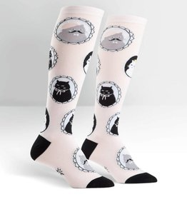 Sock It To Me Cameow - Women's Knee High Socks