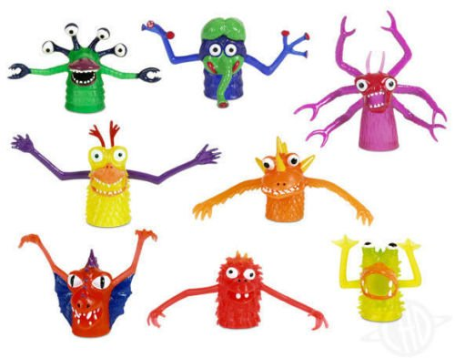 Accoutrements Finger Puppet - Finger Monsters