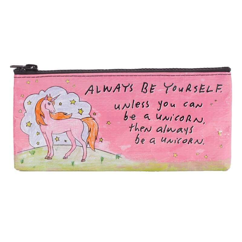 BlueQ Always Be a Unicorn Pencil Case