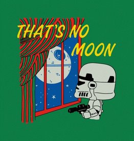 BustedTees That's No Moon Unisex T-Shirt