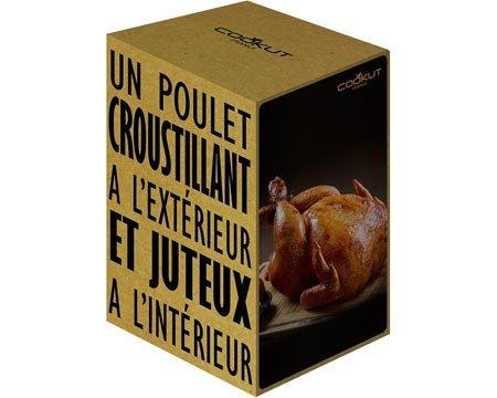 Cookut Chicken Infuser - Black