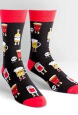 Sock It To Me Beer Pong- Men's Crew / S