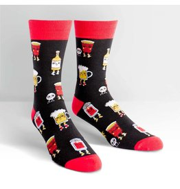 Sock It To Me Beer Pong - Men's Crew