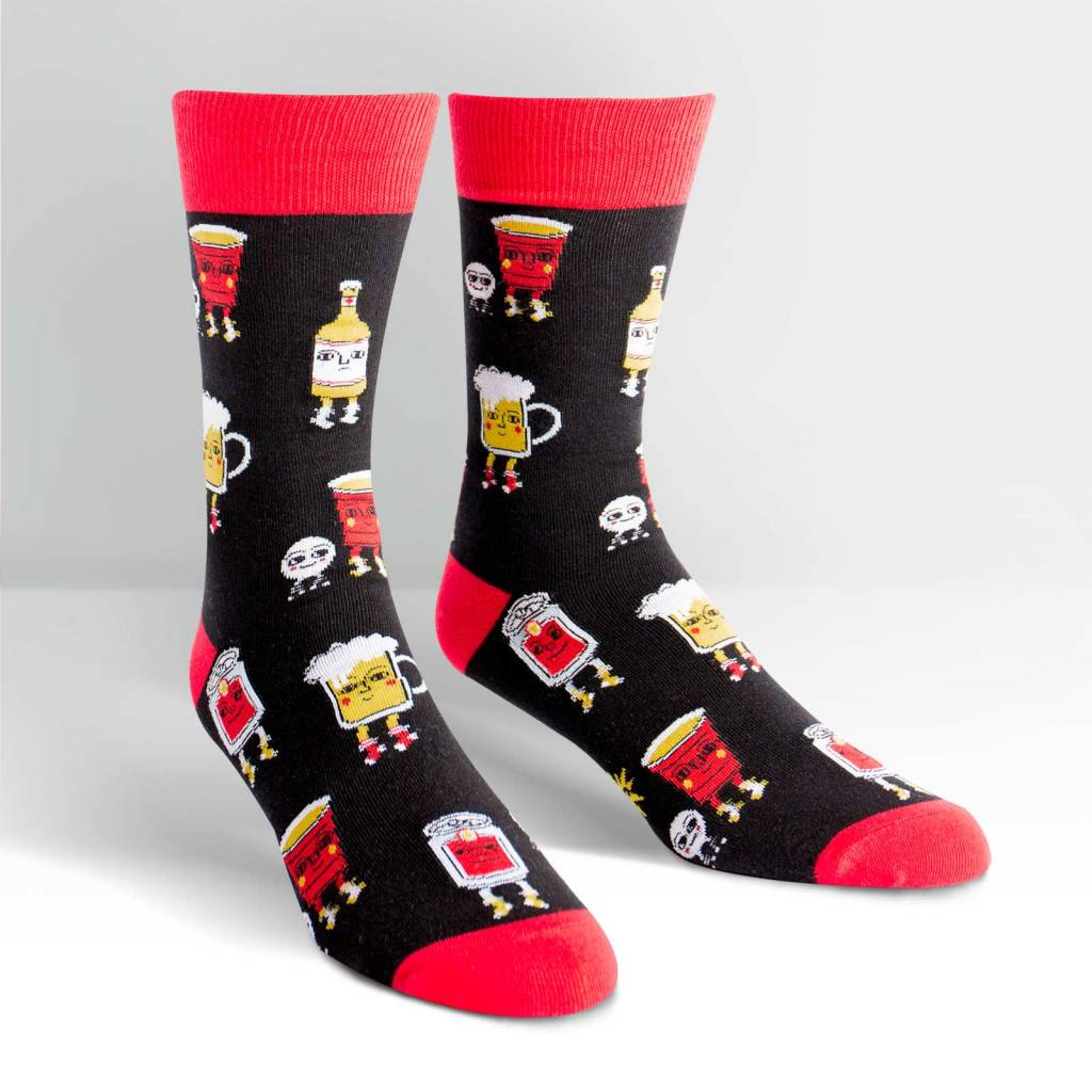 Sock It To Me Beer Pong- Men's Crew DNR