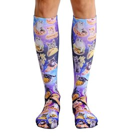 Living Royal Cat Cravings Knee High Socks