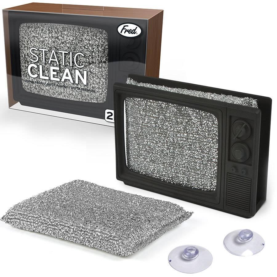 Fred & Friends Static Clean - TV Sponge Holder