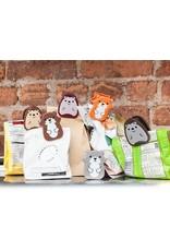 Kikkerland Designs Woodland Bag Clips Set of 6